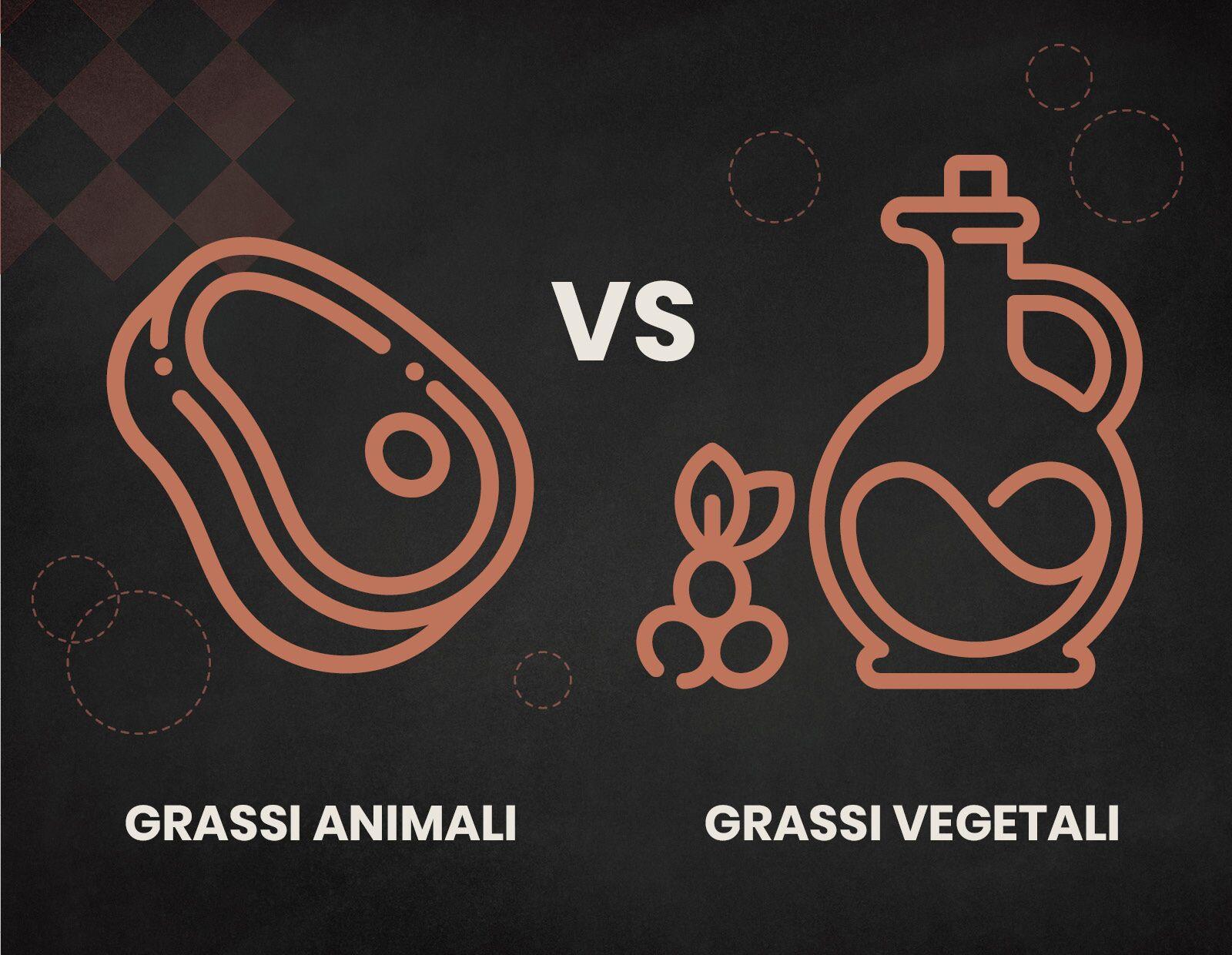 grassi animali grassi vegetali
